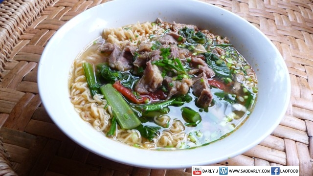 Beef Rib Noodle Soup