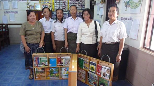 10th Book Box Delivered in Laos