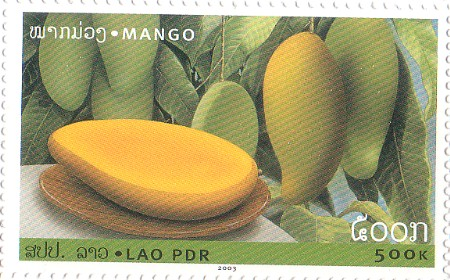 2003 Fruits Lao Stamps