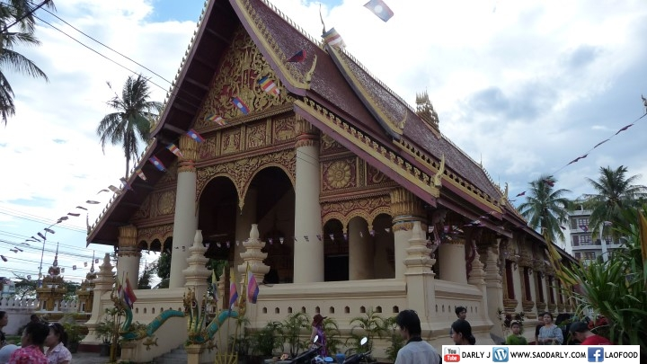 Boun Pi Mai at Wat Chan