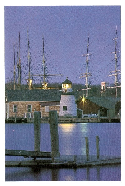 mystic river lighthouse