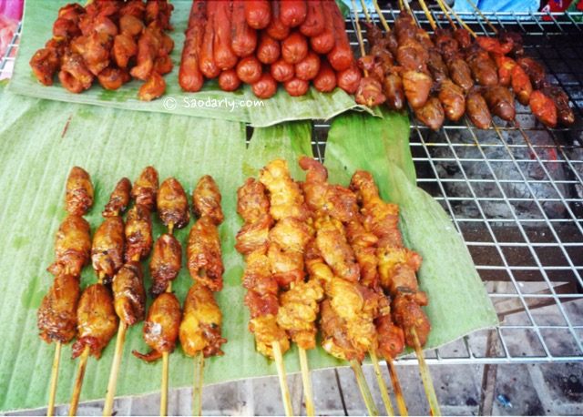 snack food laos