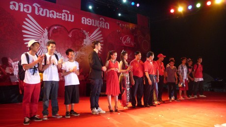 Lydia in Vientiane for Valentine's Day