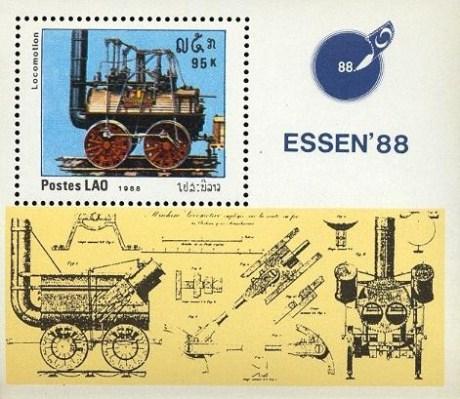 Essen 88 International Stamp Fair MS
