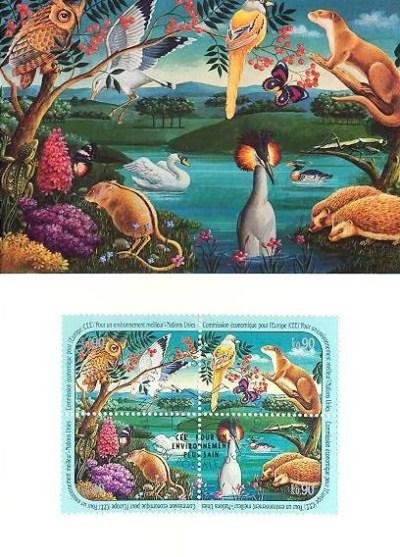 UN Geneva Maximum Card – Environment