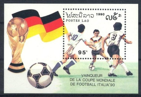 West Germany World Cup Football Champion MS