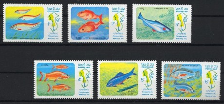 Fish of the Mekong Lao Stamp