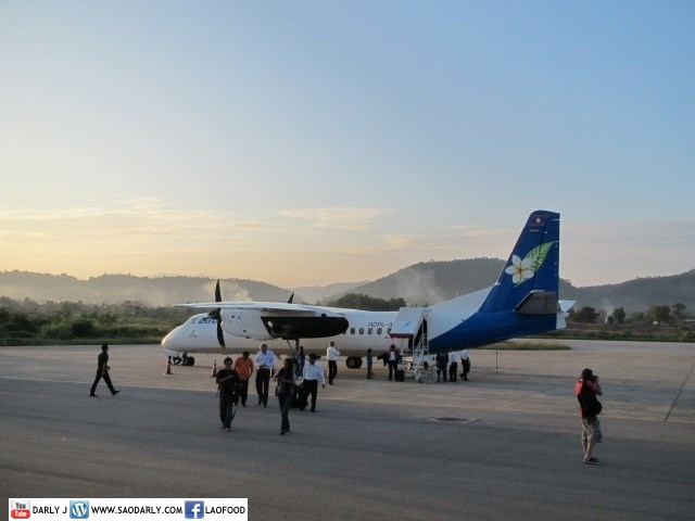 Vientiane to Luang Prabang with Lao Airlines