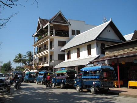 Luang Prabang Main Intersection