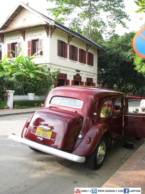 Classic Car in Luang Prabang, Laos
