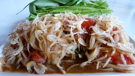 Green Papaya Salad withdrawl