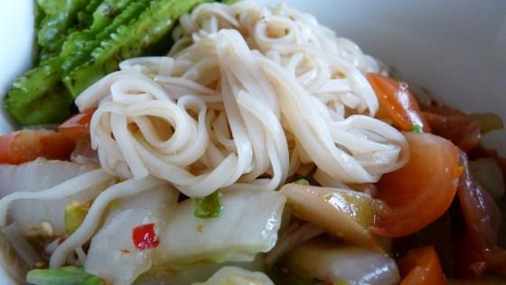 Lao Food - Spicy Noodle Salad