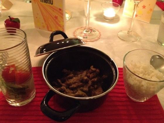 First Christmas Dinner 2011