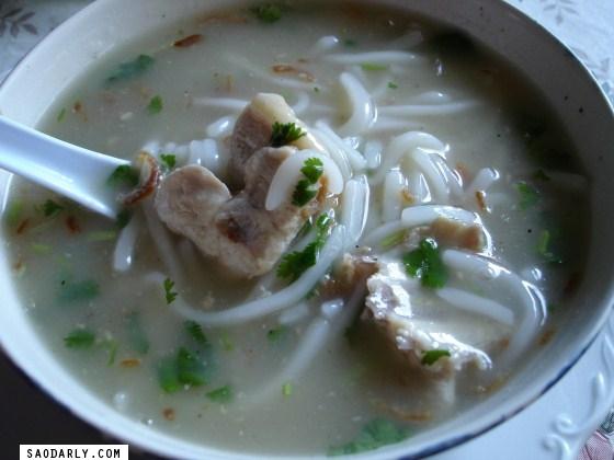 Lao Rice Noodle Soup
