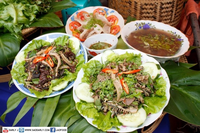 Lao Food Festival 2012 in Vientiane