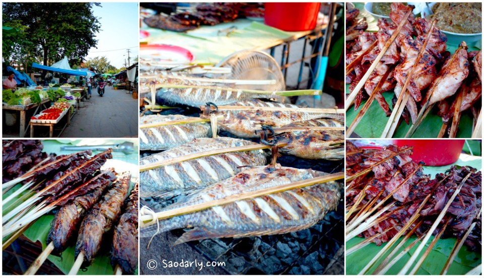 Grilled Food at Luang Prabang Evening Market