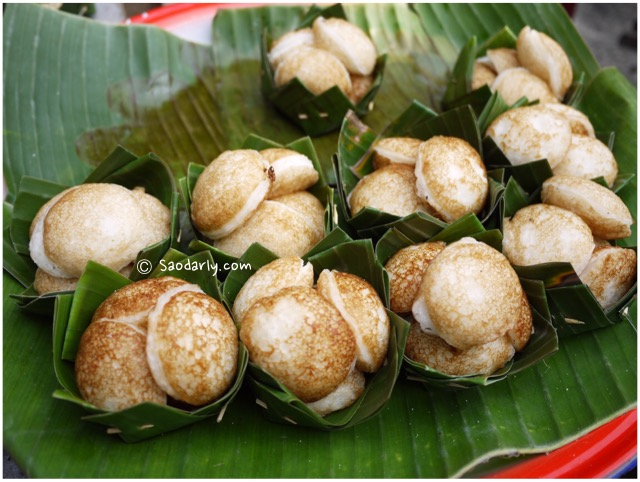 grilled coconut cakes
