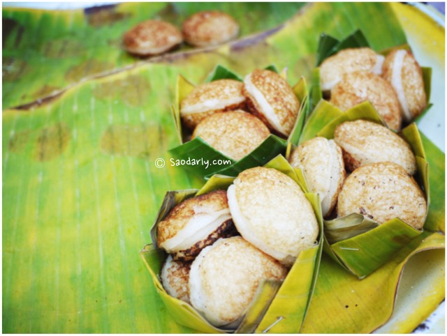 grilled coconut cakaes