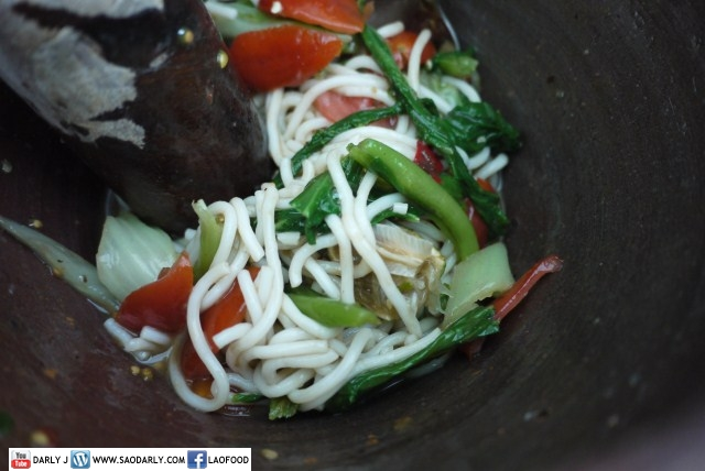 Spicy Wok Noodles Salad