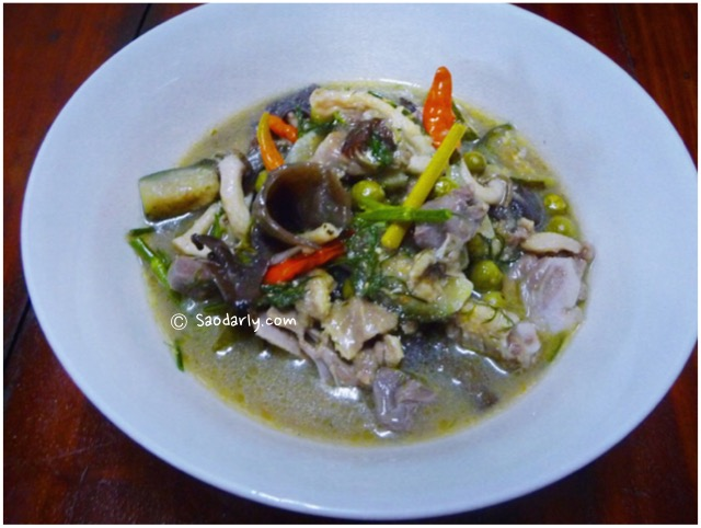 lao chicken stew