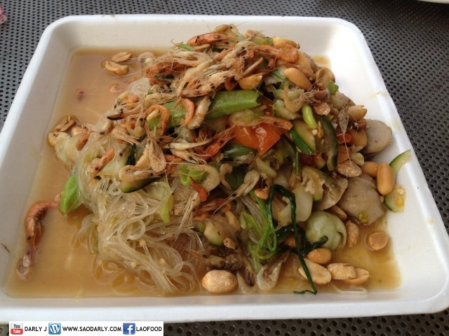 Lao Food - Glass Noodle Salad