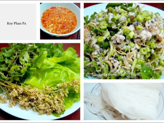 fish minced salad