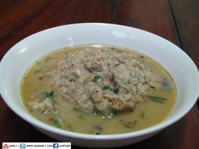 Spicy Puree of Cooked Fish