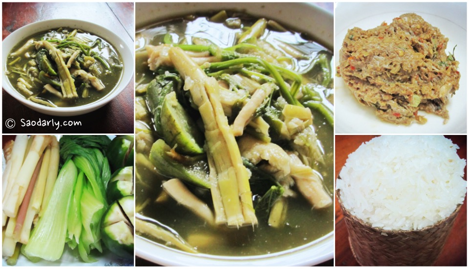bamboo shoot soup