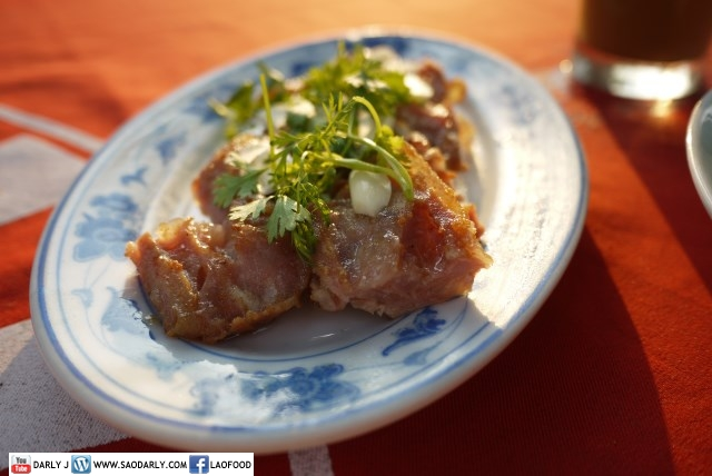 Fried Soured Pork Sausage