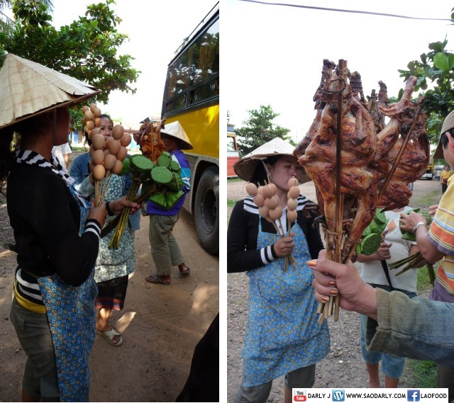 Food Hawkers in Laos