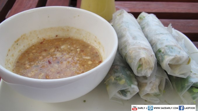 Fresh Spring Rolls at Roots and Leaves