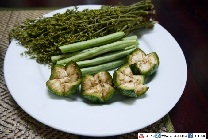 lao vegetables