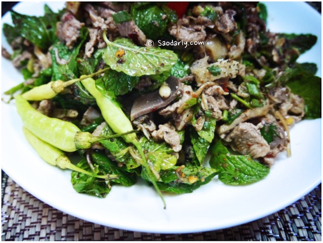 Lao Minced Duck Salad