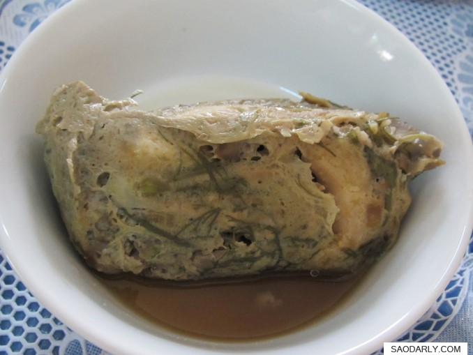 Lao Food Steamed Fish