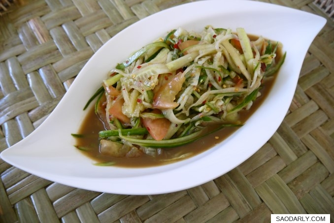 Lao Spicy Cucumber Salad
