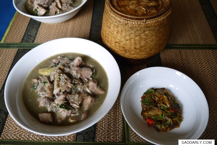 lao food jackfruit soup