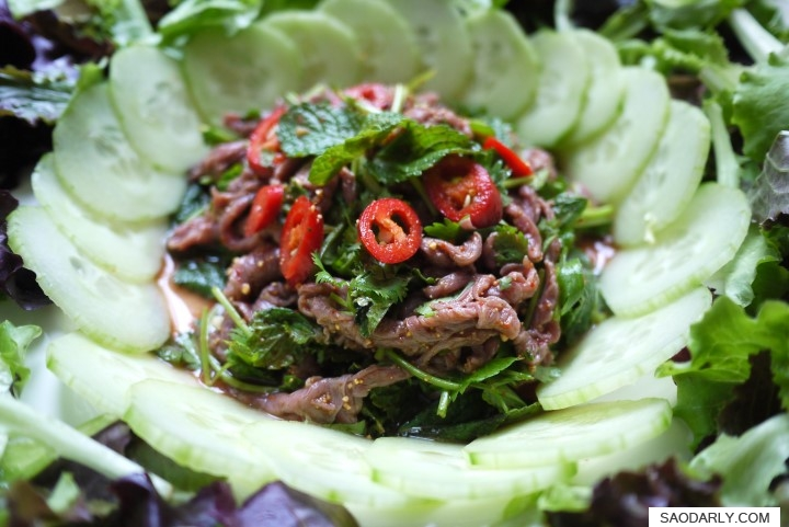Larb Beef for dinner