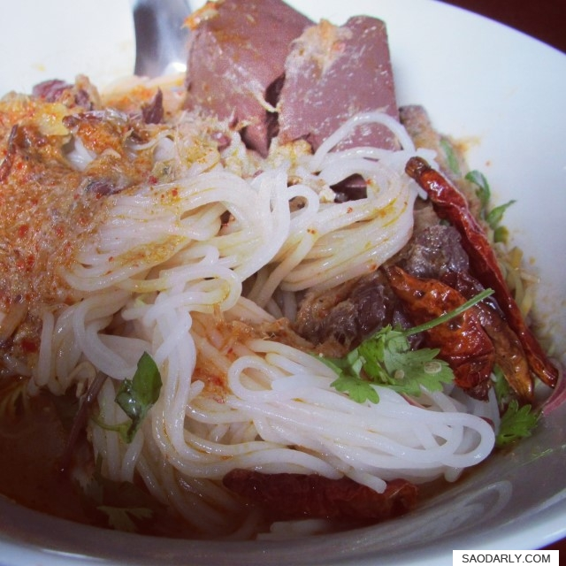 rice vermicelli soup