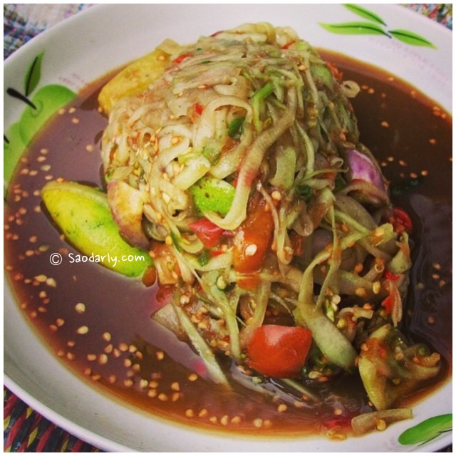 tam som papaya salad